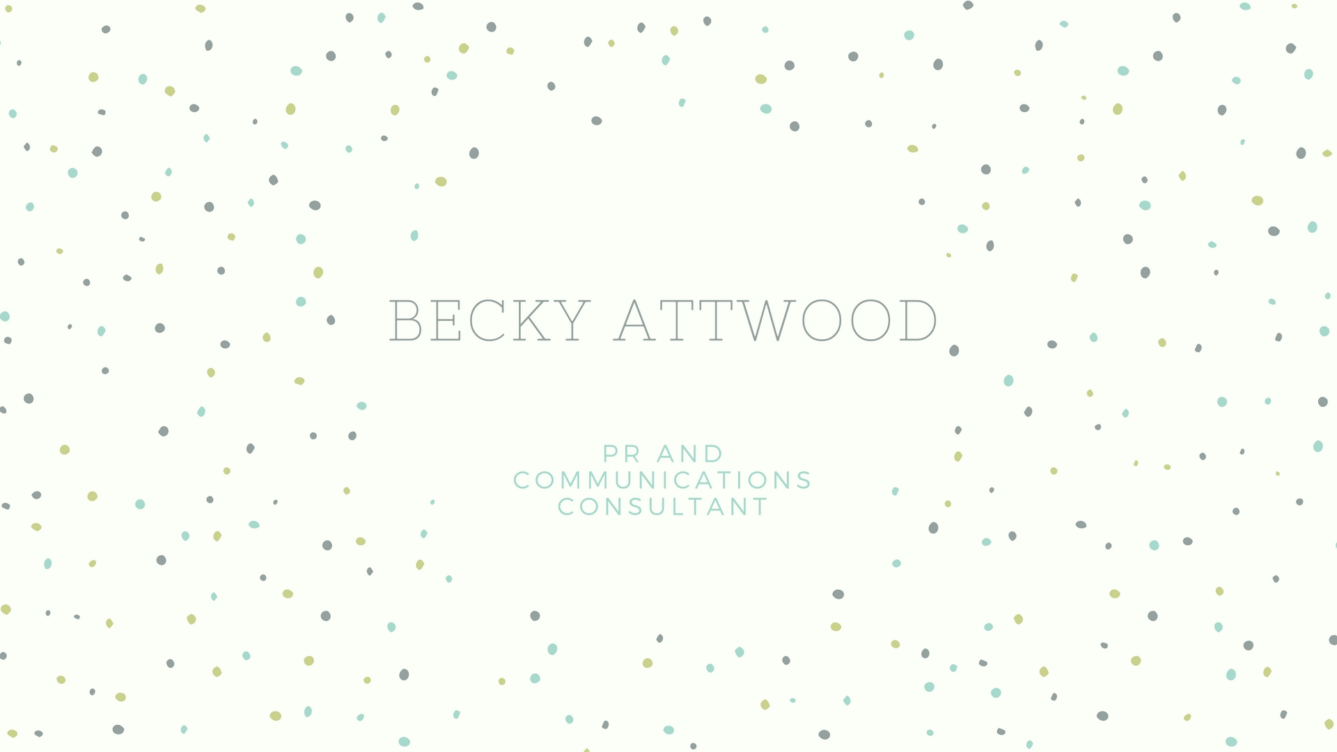 Becky Attwood is a PR and communications consultant based in Hampshire, who can create exciting and engaging marketing material to make your brand stand out from the crowd.