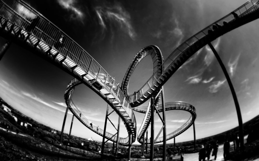 """""""It's a rollercoaster"""" – they were not lying 